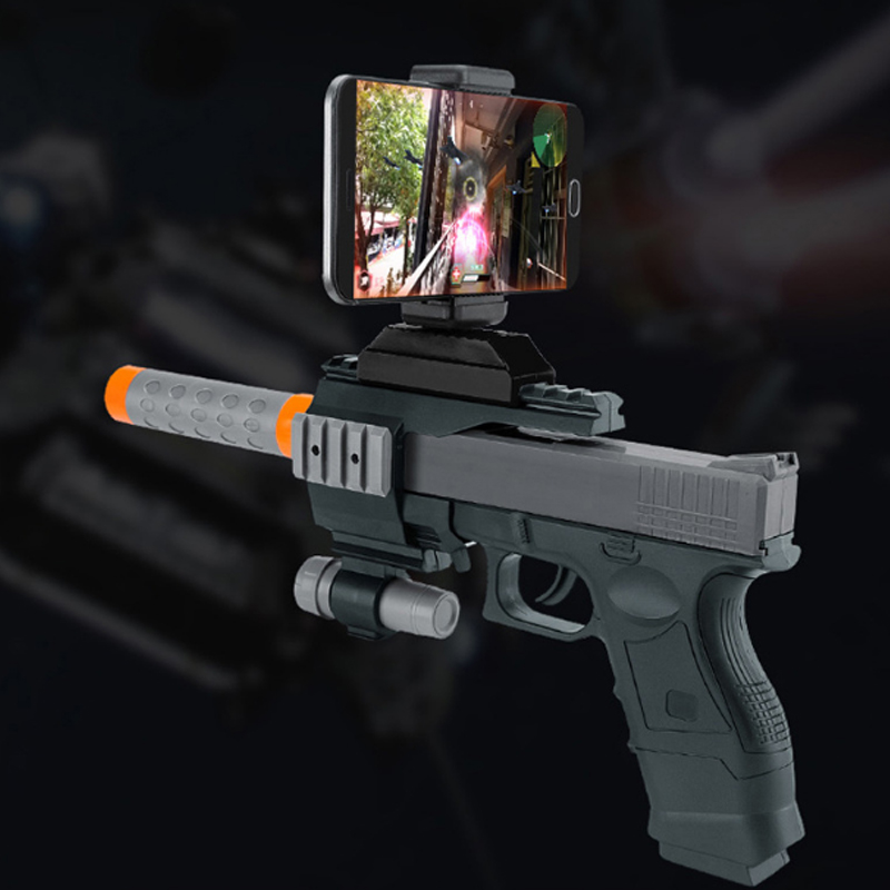Toy <strong>Gun</strong> Augmented Reality Wireless Bluetooth Remote Control 3D AR <strong>Gun</strong> Games
