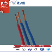 300/500V 450/750V Building wire 35mm2 pvc copper electrical cable wire