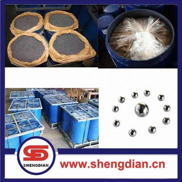 SHENGDIAN brand G500 6.35mm carbon steel ball