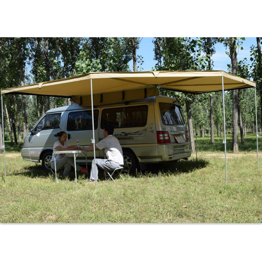 4x4 Retractable Car Roof Camping Awning - Buy Retractable ...