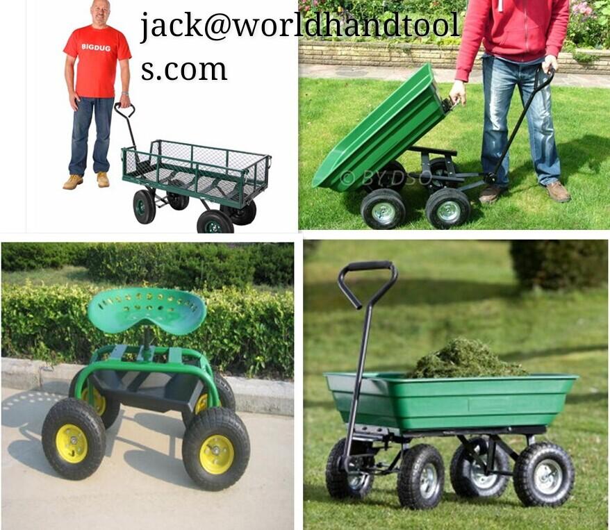 Multipurpose Rolling Garden Seat Tool Cart Tc1852 Buy Garden