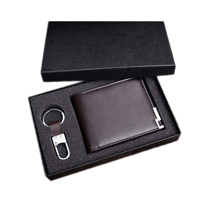 Wholesale corporate new year business cardholder and pen gift set