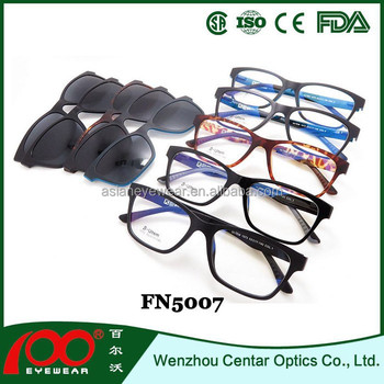 Co Sunglasses Clip On  ultem glasses with clip on frame polarized clip on sunglasses
