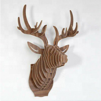3D wall modern animal head Deer head for wall decoration