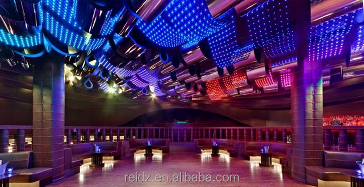 P100 led net curtain, hollow style, creative decor for club/stage/wedding...design service offered