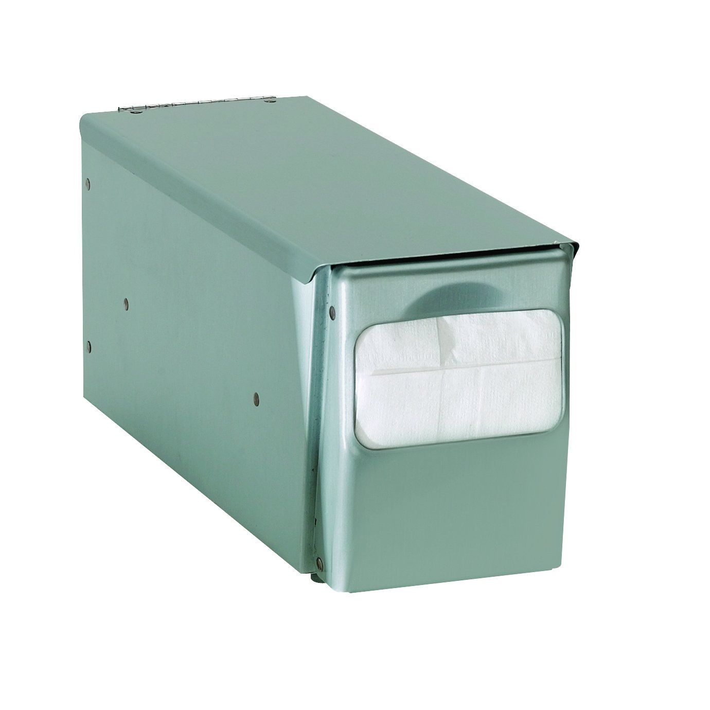 Dispense Rite Countertop Full Fold Napkin Dispenser, 5 5/8 x 7 5/8 x 11 3/4 inch - 6 per case.