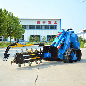 Skid Steer Trenchers Ms500 Digging Trench Machine - Buy Dig  Machien,Trenching Loader,Skid Steer Trencher Product on Alibaba com