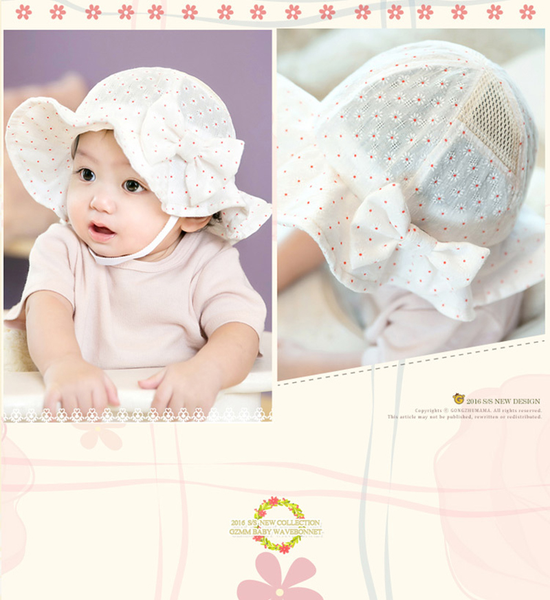 d6a2bb7cc Elinfant Baby Toddler Kids Infant Sun Cap Summer Outdoor Baby Girl Beach  Cotton Sun Hat - Buy Baby Hat,Sun Hat,Sun Cap Product on Alibaba.com