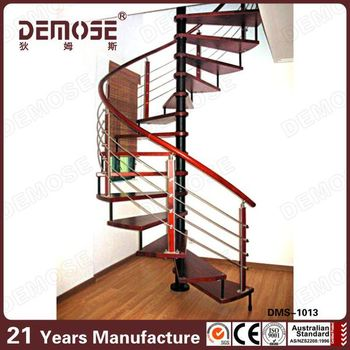 Prefab Metal Stairs Residential/indoor Metal Stairs/prefab Metal Stair  Railing