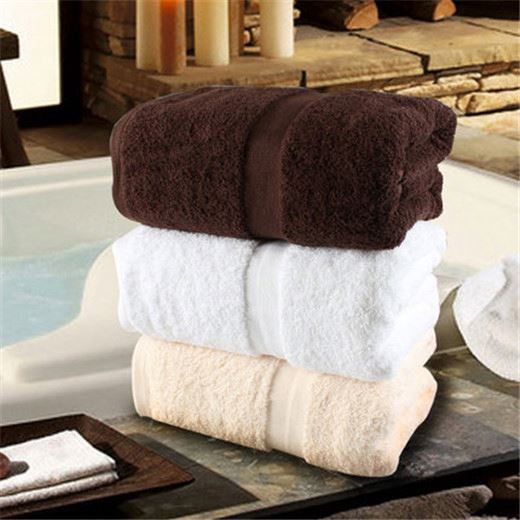 new products plain dyed bath towel with dobby design
