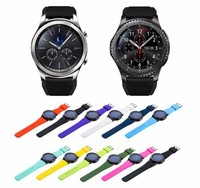 silicone watch band for samsung gear s3,for samsung gear s3 strap