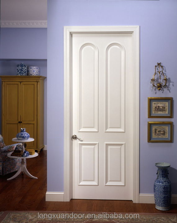 simple chambre porte design avec panneau de bois porte blanc en bois modles de portes - Modele Porte Chambre