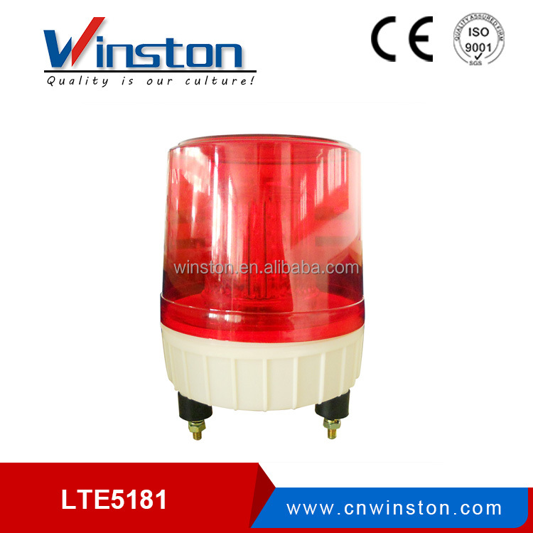 LTD5181 Red LED magnetic Warning light DC12V 24V AC 110V 220V