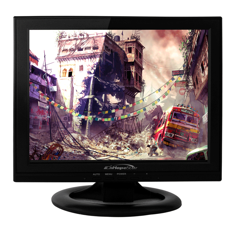 "13"" vga tft lcd monitor with rca video input"