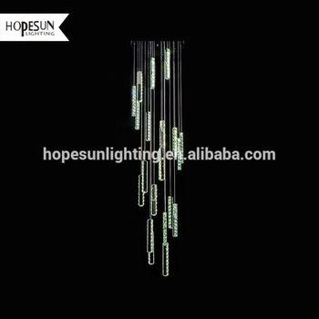 Top 10 Square Alabaster Crystal Dining Room 18w Led Pendant Lighting Lamp Hanging European Type Modern