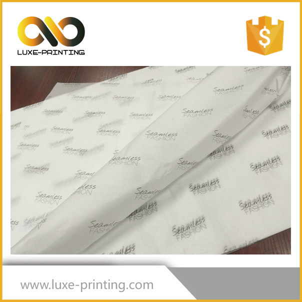 White silk tissue waste paper for shipping box