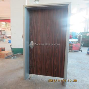 Special Exterior Steel Security Door Design Low Cost In China