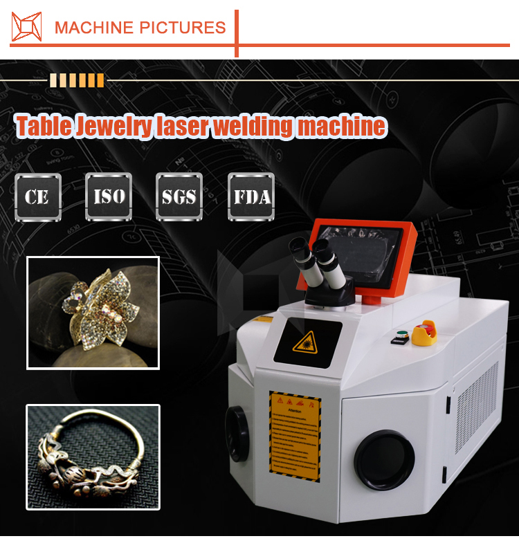 Hot Gold Jewelry Repairing Laser Soldering Welding Machine For Jewelry Gold price for sale