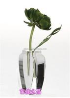 flower pot wedding decorations crystal flower vase handmade designs