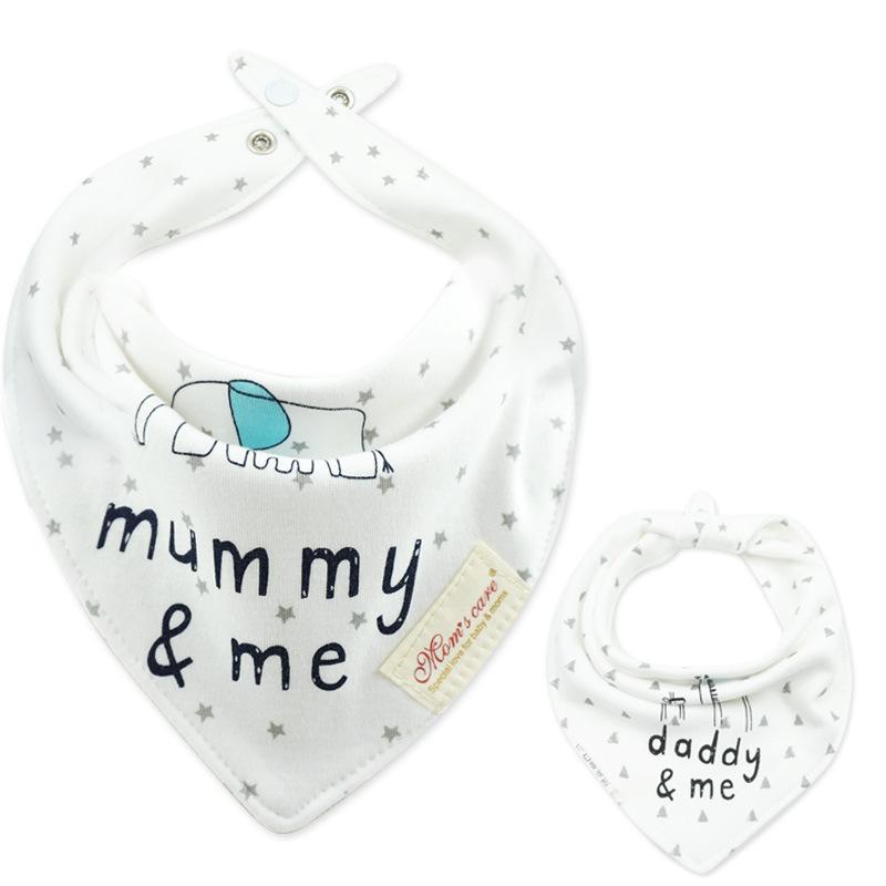 Baby Bibs Cotton Bandana Bibs Infant Babador Saliva Bavoir Towel baberos bebes Babadores For Newborn Baby