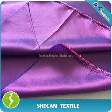 100% polyester iridescent taffeta fabric for clothing lining