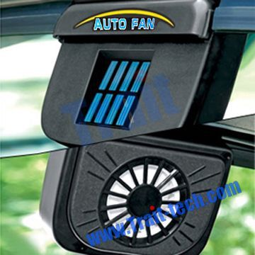 Auto Car Fan Solar Powered Solar Powered Exhaust Car Fan Car Air Ventilation System