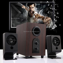 A8 base Da Ceia 2.1 Altofalante Do Computador <span class=keywords><strong>de</strong></span> Madeira para home theater