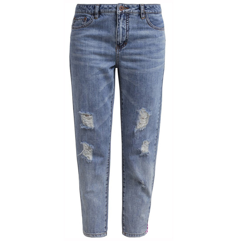 3b723814d4a Get Quotations · 2015 Hot Plus size XL-7XL summer style hole jeans female  denim ripped jeans for