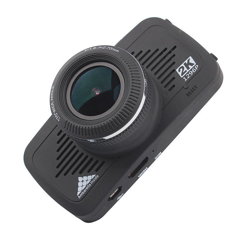2.7 Inch Mini Full HD 1296P 5MP OV4689+051 Dash Car Camera Cam DVR GPS