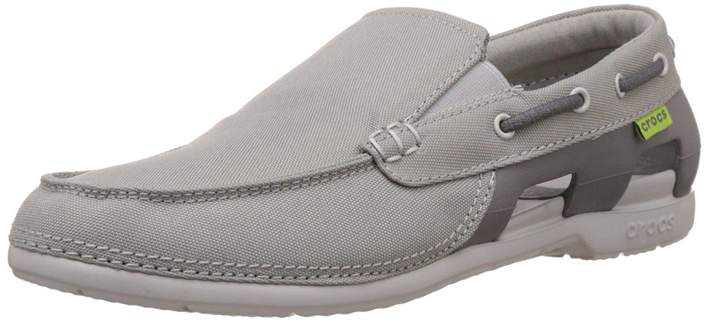 5863b17c6 Get Quotations · Crocs Men s Beach Line Boat Shoe