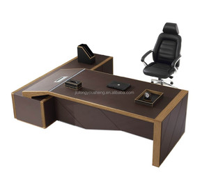 Luxury CEO escritorio office furniture set w05 escritorio model office table for manager wooden office table design