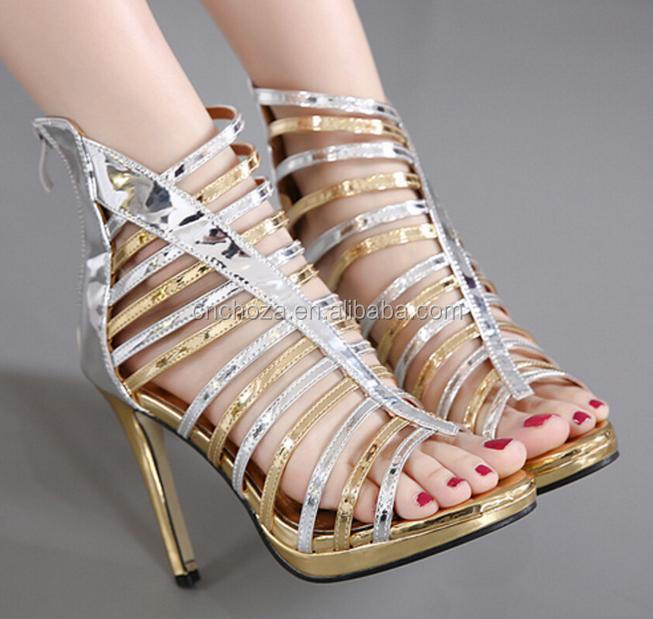 Z59135B low price latest ladies high heel sandals designs