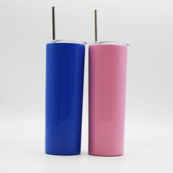 90269f35f74 Color Painting Stainless Steel Skinny Tumbler,Personalized 20 Oz Vacuum  Insulated Skinny Tumbler With Lid