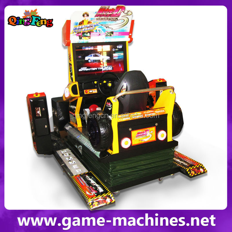 """Qingfeng 32""""lcd Arcade Stage 7 Single Player Car Racing Game ..."""