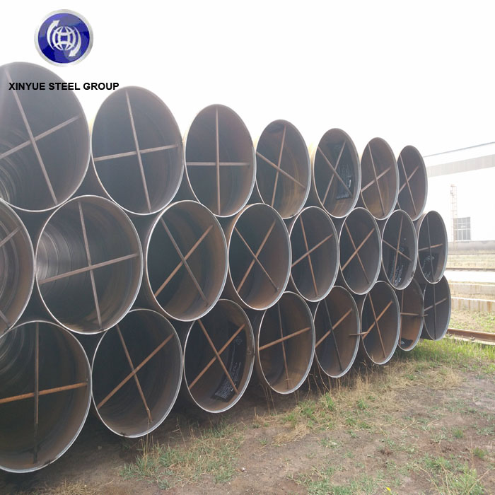 For Oil delivery API5L X60 X70 X80 Sprial Weld Seam Steel Pipe