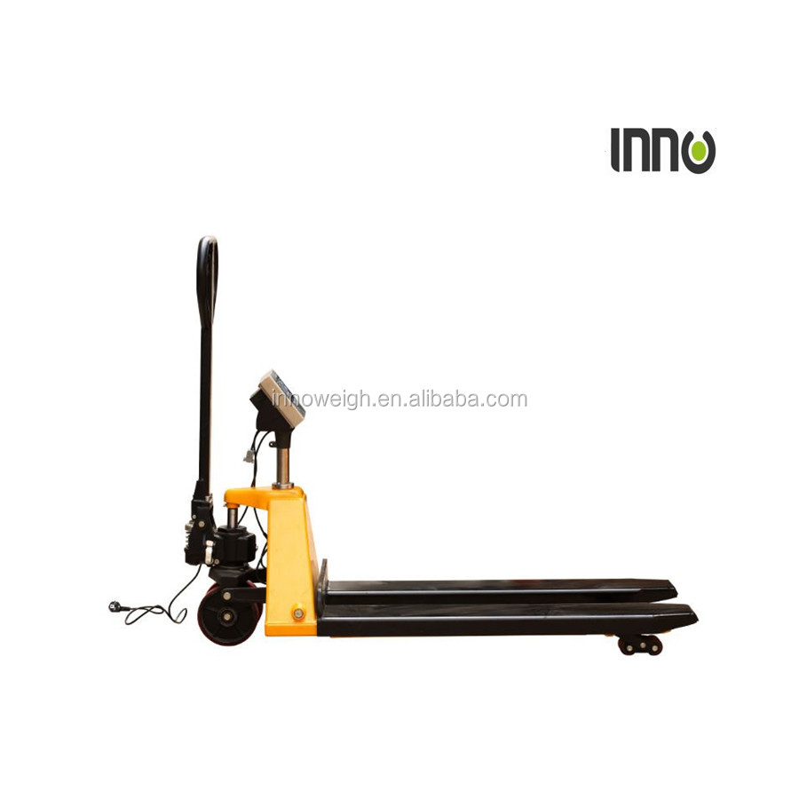 Pallet truck scale 2000kg floor weighing scale
