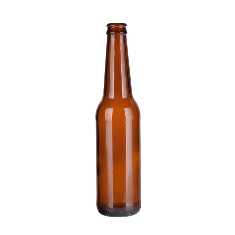 China Supplier Empty Amber Beer Glass Bottles 330ml Beer Bottles ...