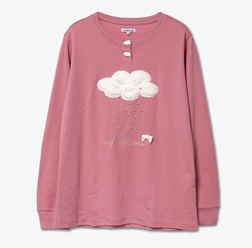 High Quality Cloud Pattern Funny Pajamas For Women