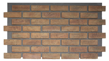3d Pu Foam Brick Wall Panel Artificail Brick Panel With