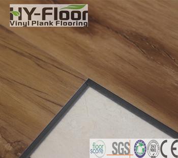 Interlocking Click Lock Vinyl Plank Flooring Pvc