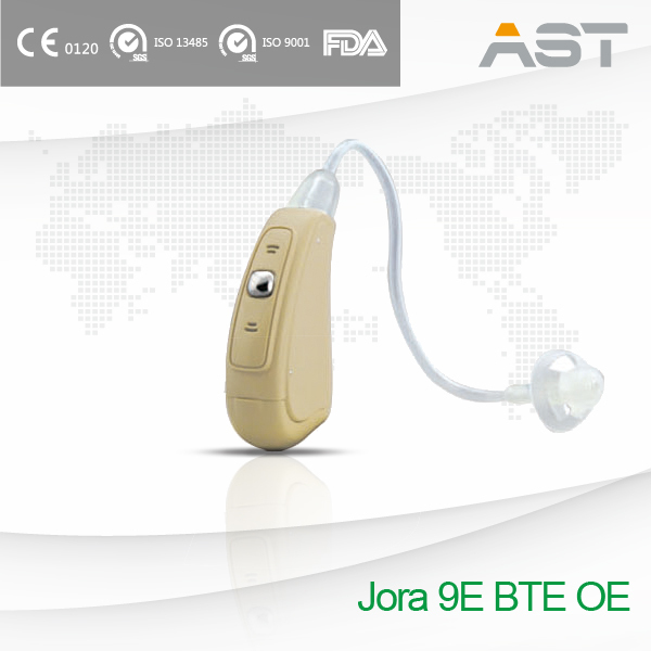 CE Approved Advanced Programmable Hearing Aid with Open Ear Sound Tube
