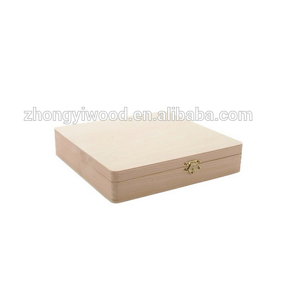 Custom Made Gift Solid Wooden Cigar Packaging Boxes