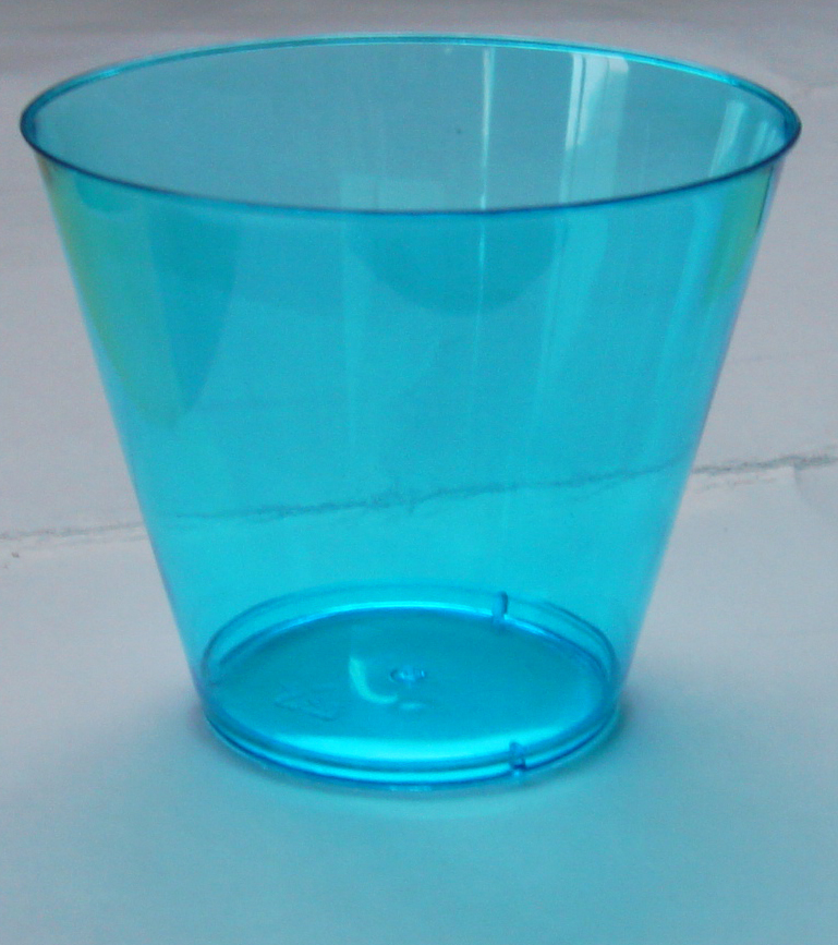 38c15130e89 Disposable Plastic Colored Clear Ps 9oz Tumbler Cups - Buy Clear ...