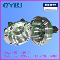 China Factory direct autoparts, Best quanlity tricycle differential housing, SINOTRUK differential assembly
