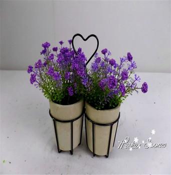 2016 Lavanta Yapay çiçek Dekor Için Buy Yapay Saksı Lavantayapay