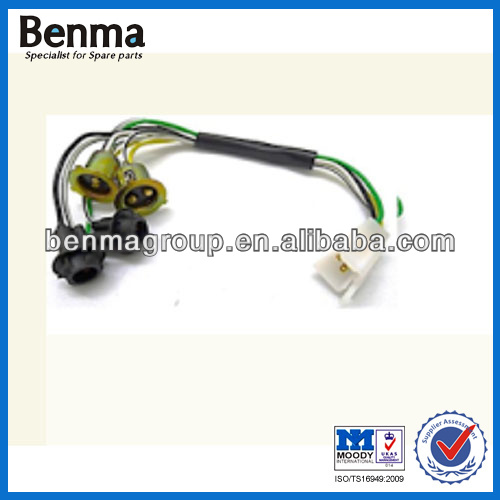 high reputation bulb holder for motorcycle,motorcycle headlight bulb socket t20 with factory price