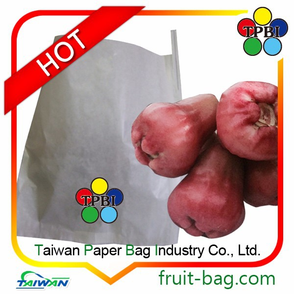 TPBI wax apple bell fruit protection paper bag fruit protective paper bag wax apple