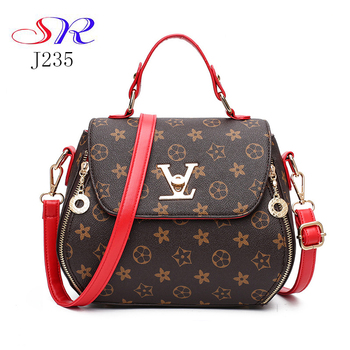 French Business Design Leather Private Label Handbags