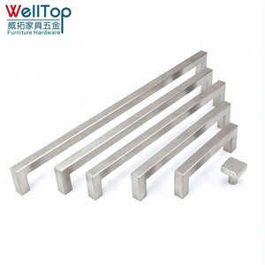 Veitop Hollow stainless steel flat drawer handles
