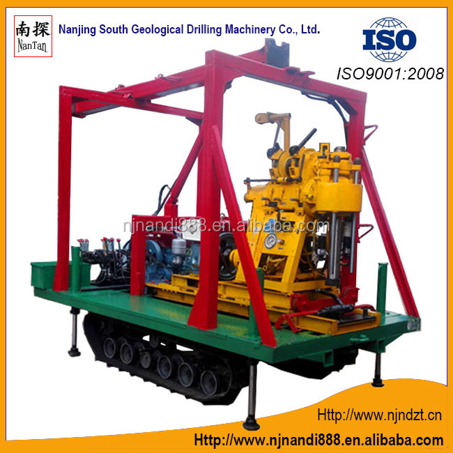 XY-1A(YJ)-L-02-B-SST crawler drilling rig(180m),mud pump and Crawler integration,Exploration,Well drilling rig